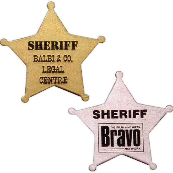 Custom Sheriff Badge